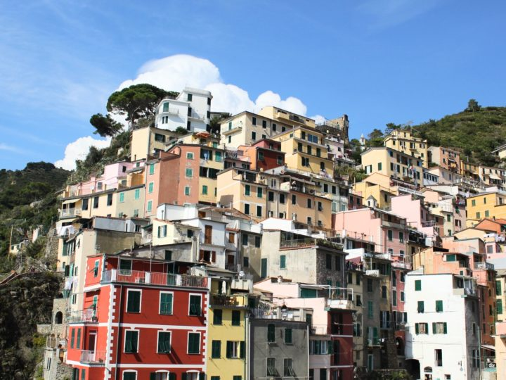 A quick trip to Riomaggiore Cinque Terre Italy after Fashion Week