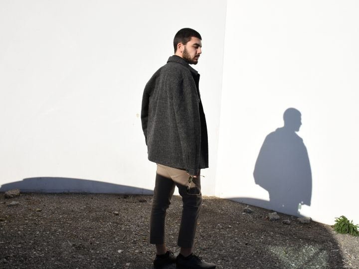HOW TO WEAR THE WOOLEN JACKET FOR MEN