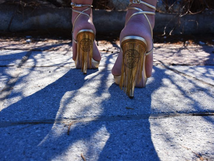 FRINGE,GOLD,EXCESS by VERSACE