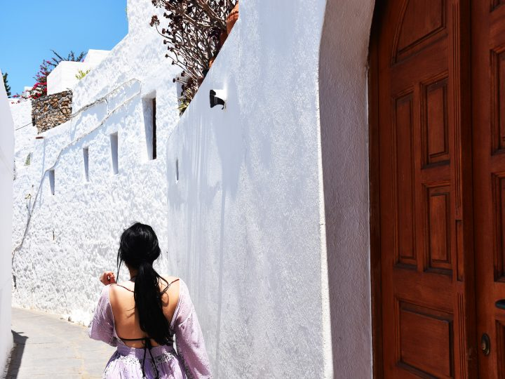 A day in Lindos , the Santorini of the Dodecanese