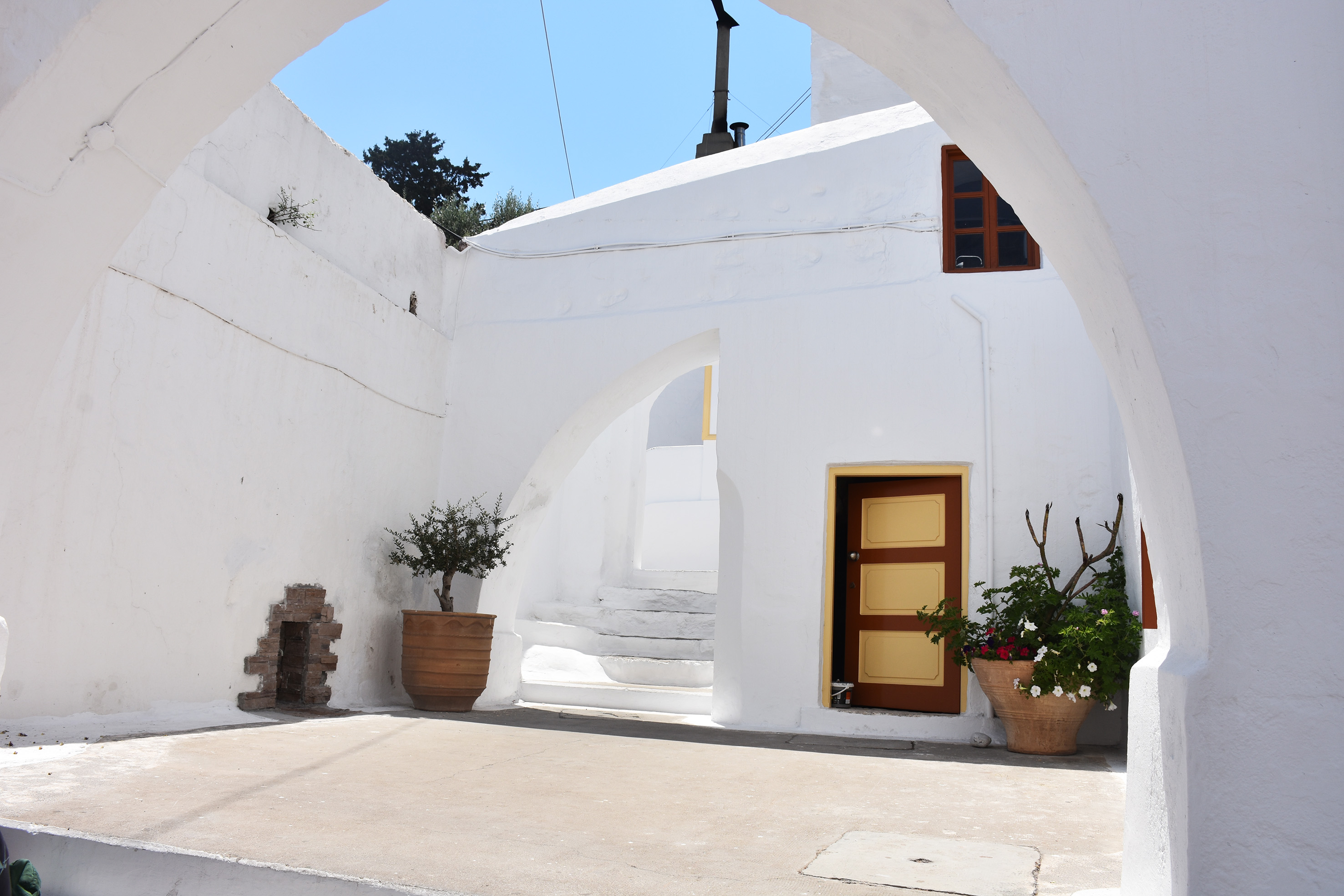 traditional bakery in Panormitis Simi Greece