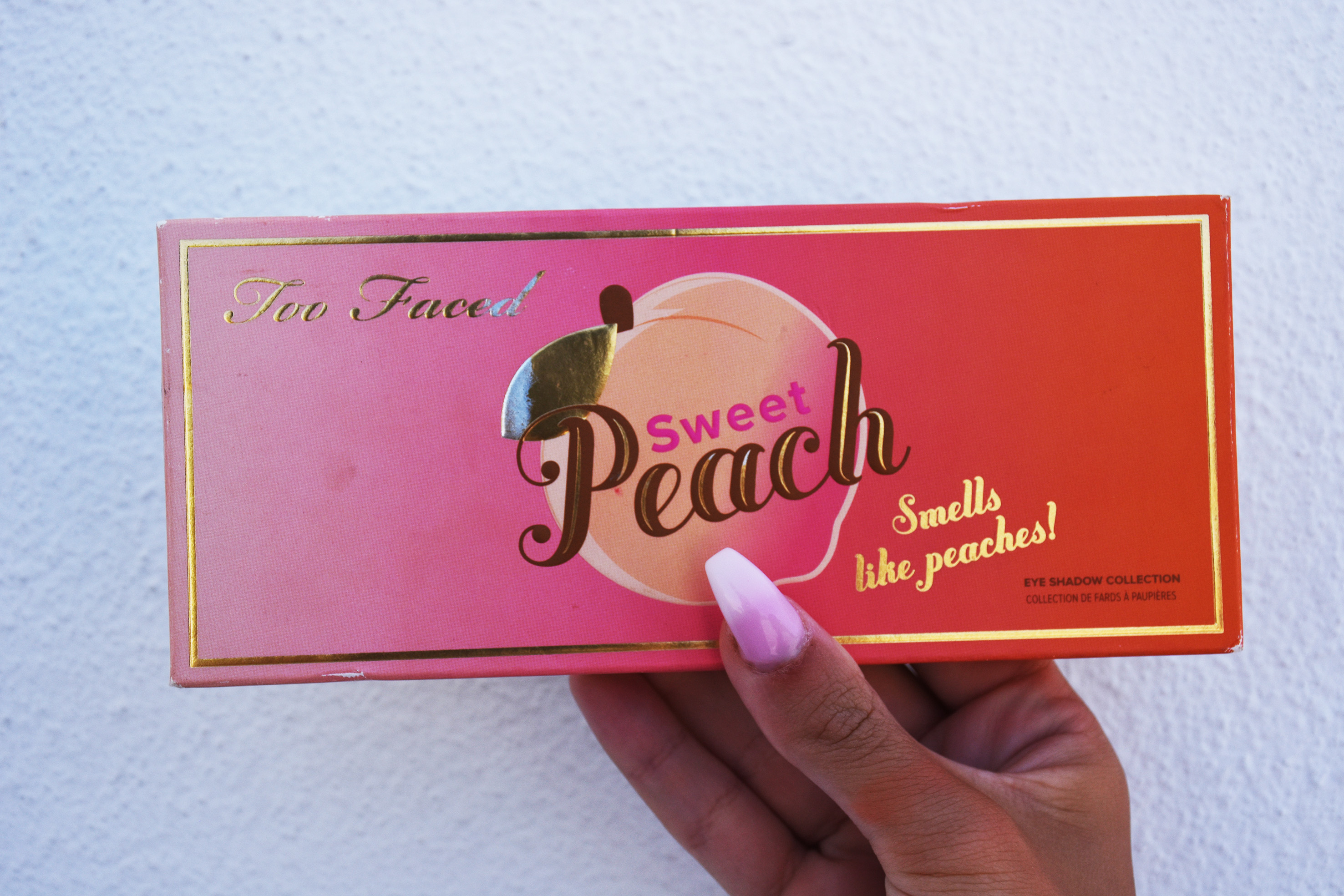 a full review of too faced peachy palette