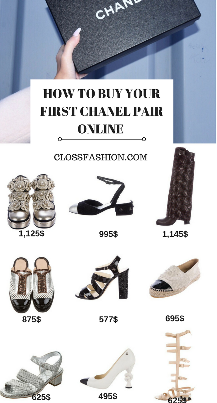HOW TO BUY CHANEL SHOES ONLINE , ESPADRILLES , SNEAKER AND FLATS