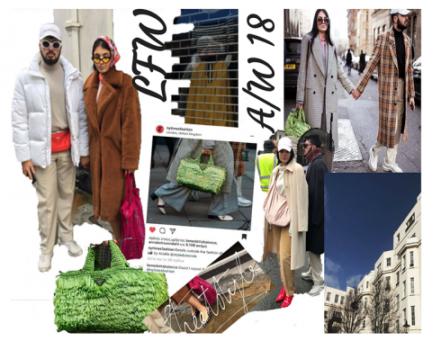 best streetstyle from lfw february 2018 / aw 18