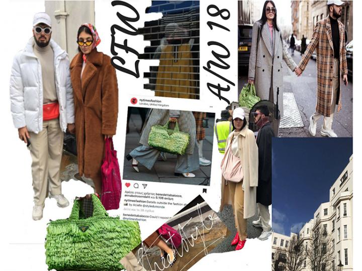 London Fashion Week A/W 18 STREETSTYLE