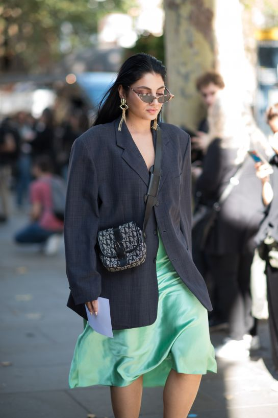 refinery 29 LONDON FASHION WEEK STREET STYLE