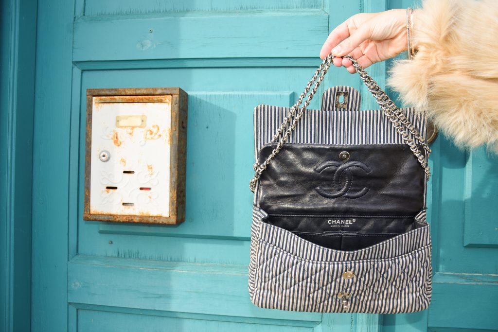 medium Chanel flap bag size