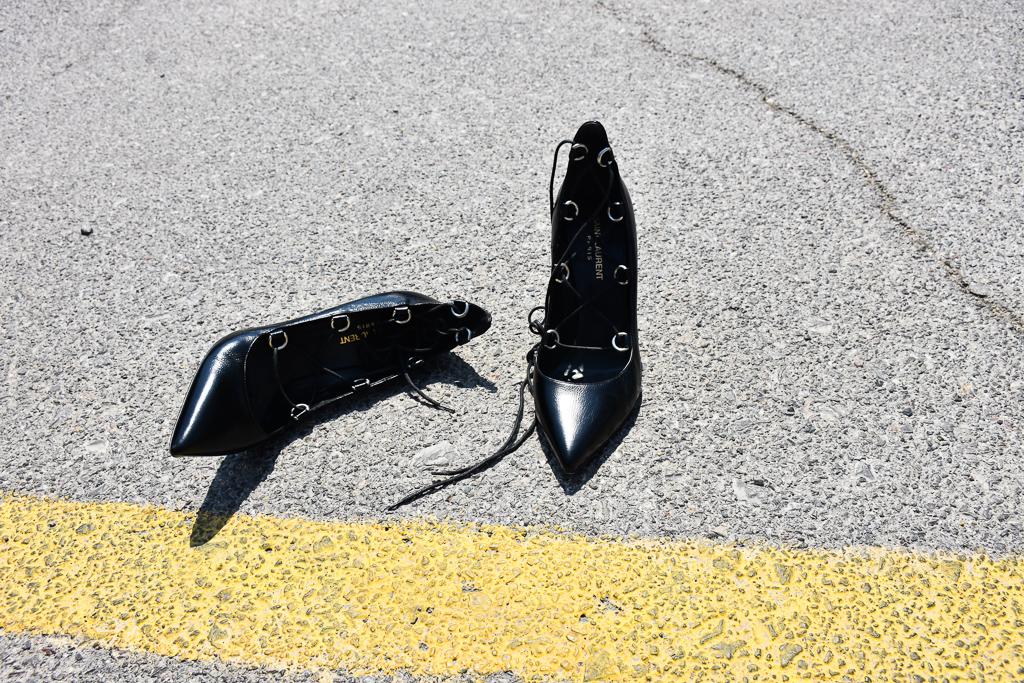 saint laurent shoe size